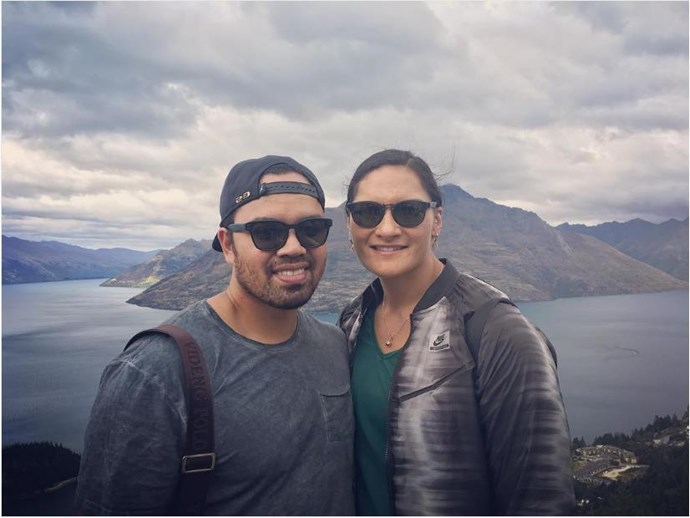 Valerie Adams shared this sweet snap from Queenstown.