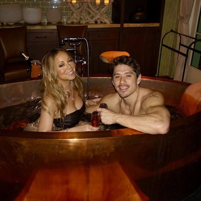 Of course Mariah Carey had to win the award for the most OTT Valentine's getup ever...