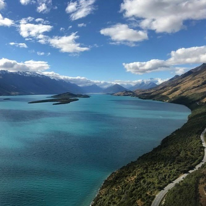 Although they were totally won over by picturesque Wanaka.