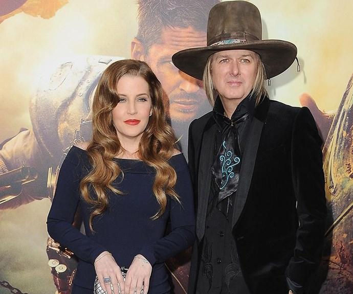 Lisa Marie Presley with ex husband Michael Lockwood