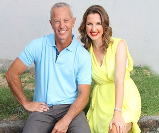 Mark Richardson and Amanda Gillies' wake-up call
