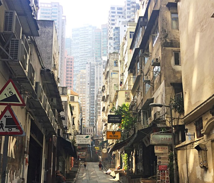 Hong Kong's central district is full of history.