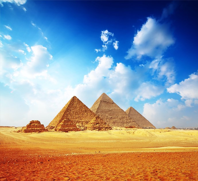Some said the existence of the pyramids still astounds them