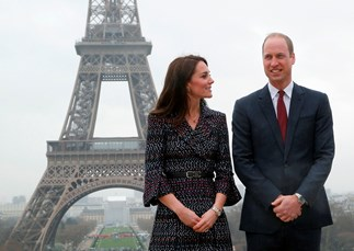 Inside Prince William's first official trip to Paris since Diana's death