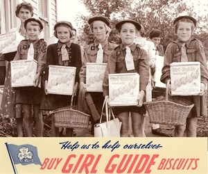 Celebrating 60 years of Girl Guide biscuits