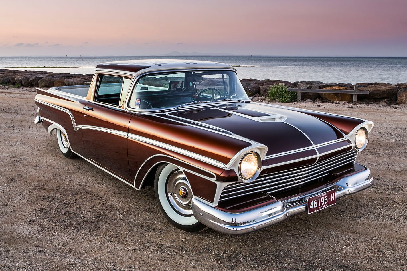 Video How To Paint And Pinstripe A 57 Ford Ranchero