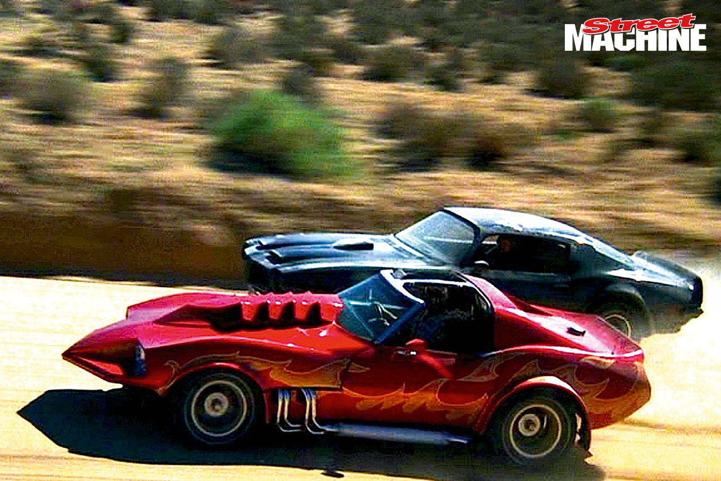 Corvette Summer 1978 Ripper Car Movies Street Machine