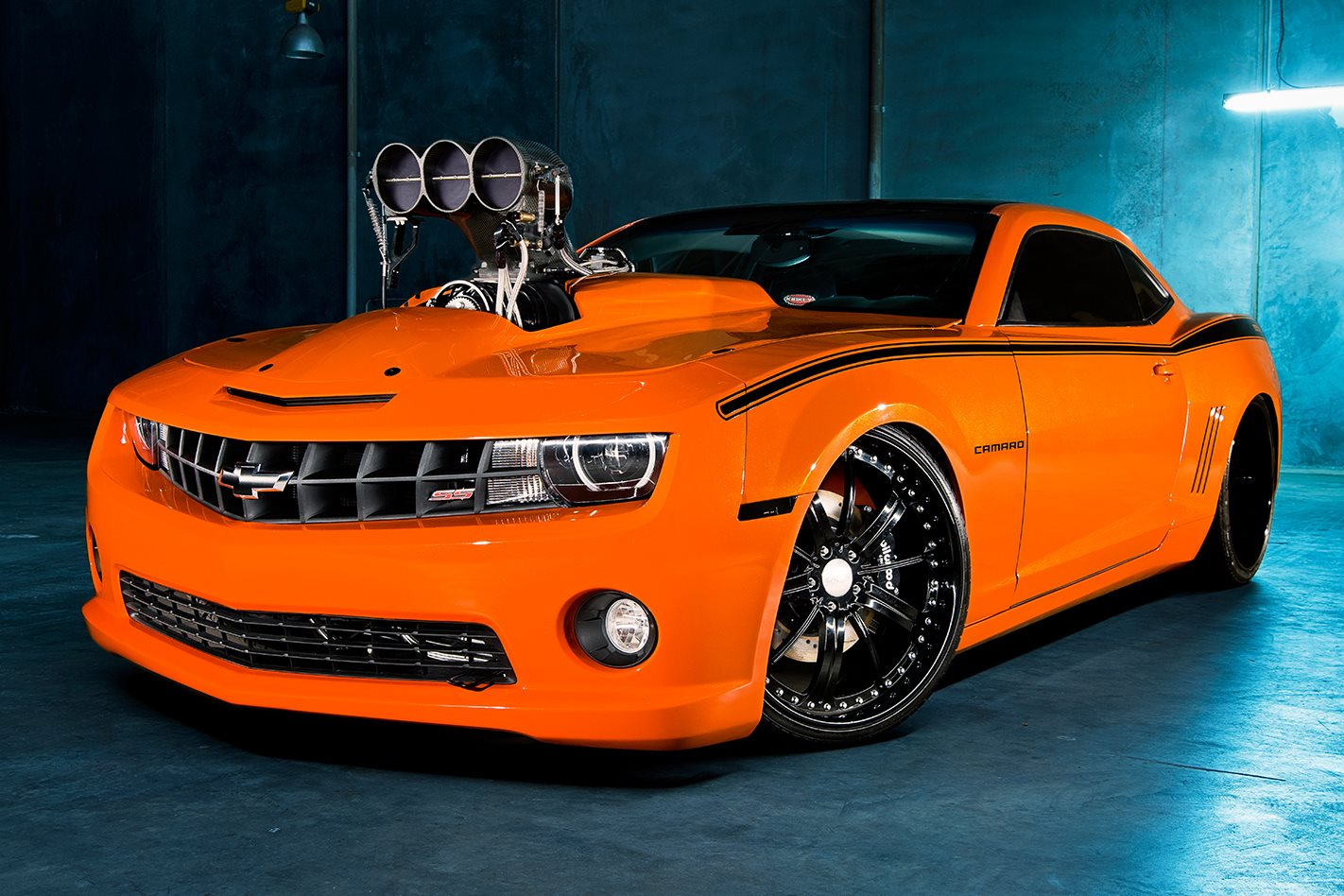 Blown Amp Injected 2012 Chevrolet Camaro Ss Street Machine