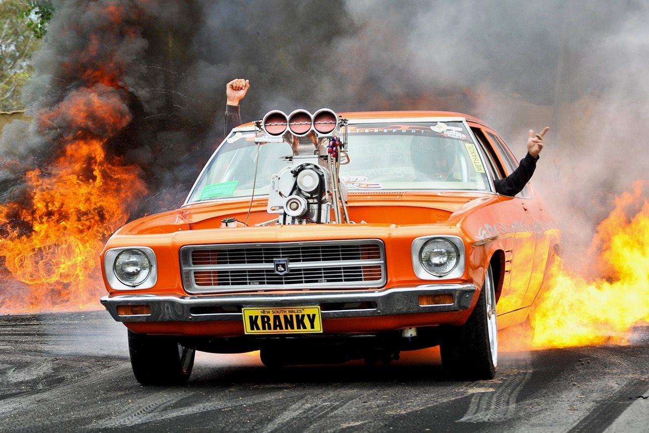Kranky Burns Down Kandos Video Flashback Street Machine