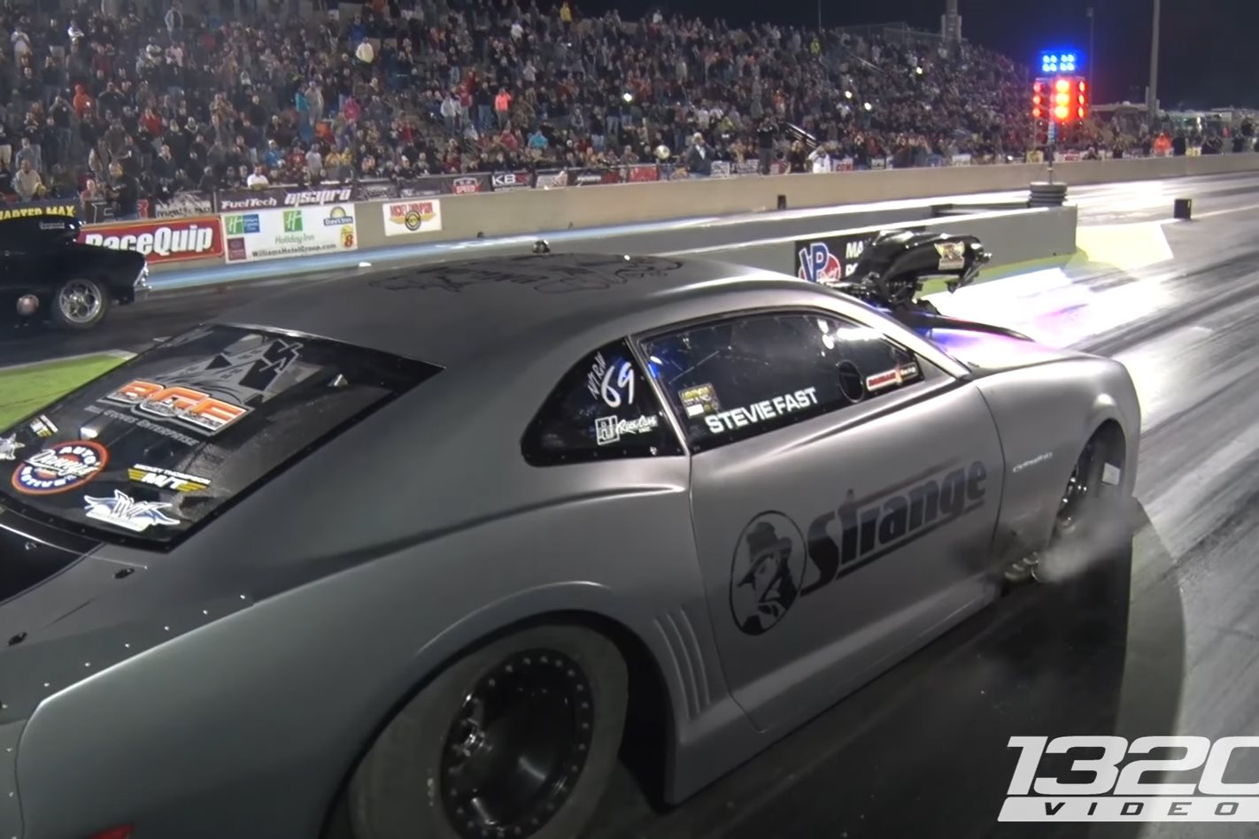 Stevie Fast Resets Radial World Record Street Machine