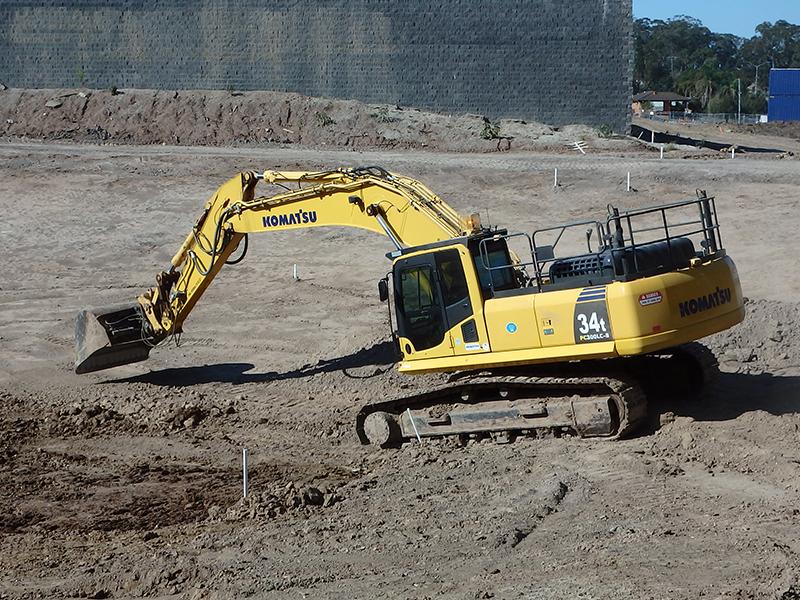 Komatsu PC300LC-8 excavator