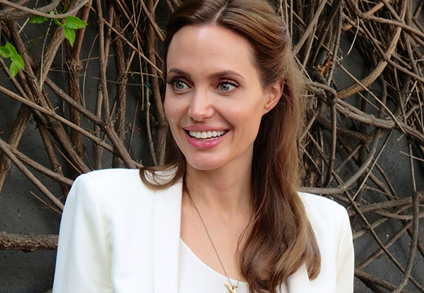 Angelina tells: My Aussie love letters to Brad