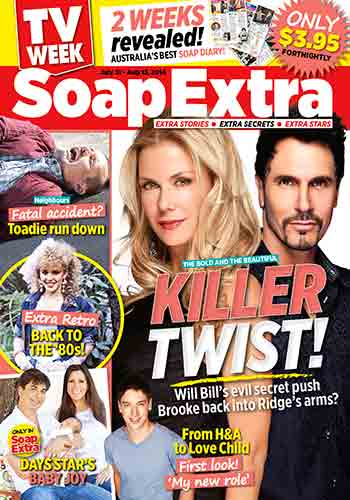TV WEEK Soap Extra makes its debut!
