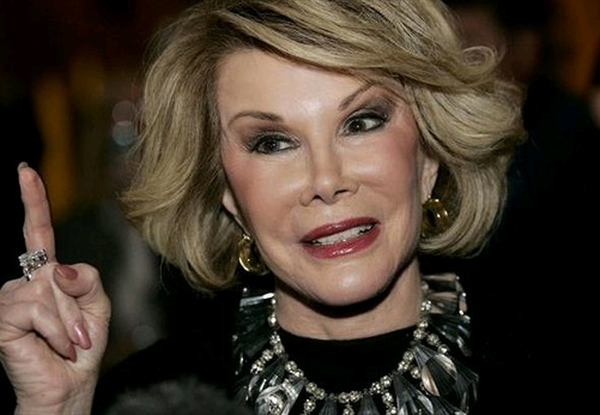 UPDATE: Joan Rivers remains on life support