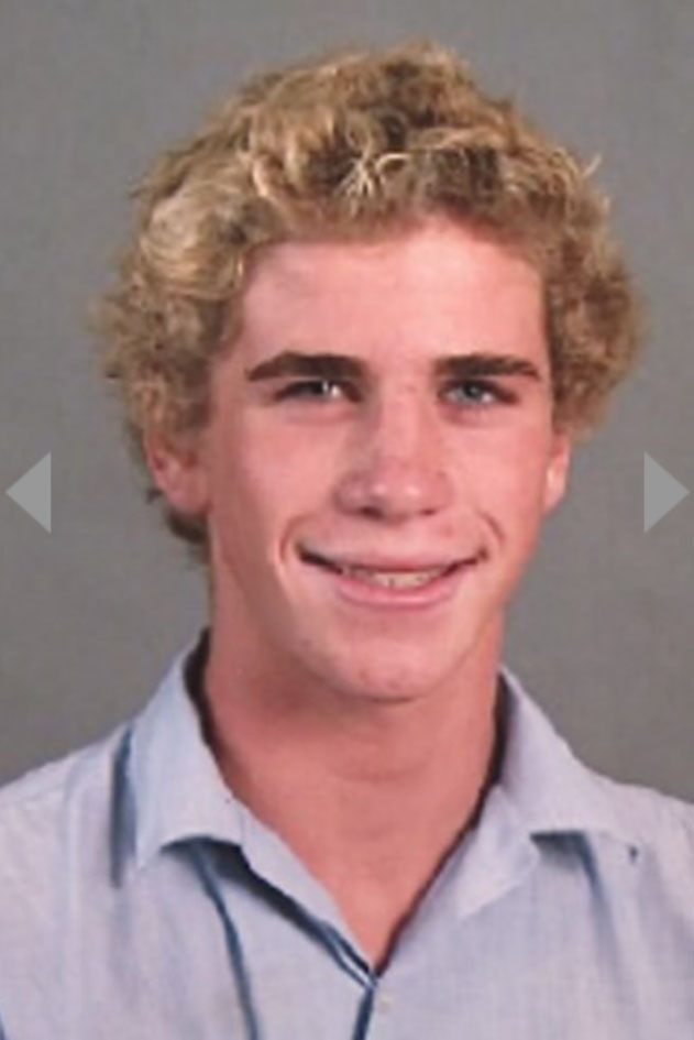 Liam Hemsworth As A Kid Liam Hemsworth when he...