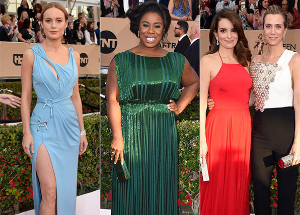 The 2016 SAG Awards red carpet