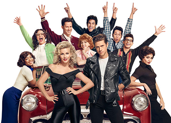 The stars of Grease versus Grease Live