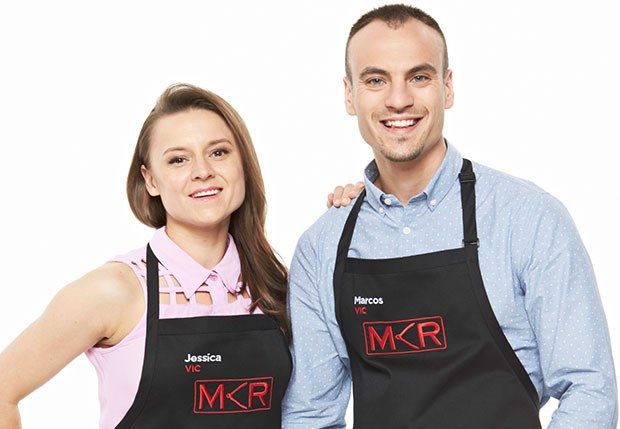 My kitchen rules jess 39 secret pain tv week for Y kitchen rules contestants