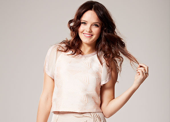 Home And Away left Rebecca Breeds exhausted