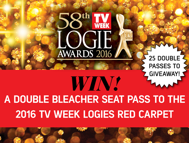 WIN! Tickets to the TV WEEK Logies red carpet