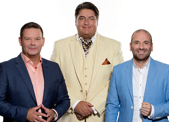 Masterchef judges say they're like the mafia