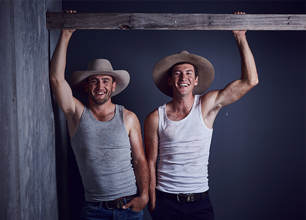 House Rules' Luke and Cody's hottest photos