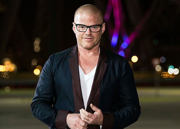 Five things you didn't know about Heston Blumenthal