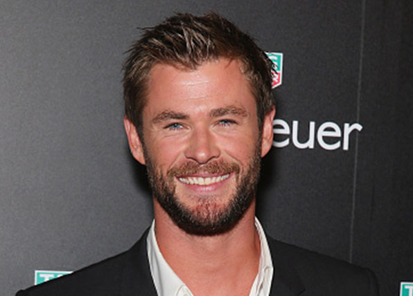 Chris Hemsworth gets behind Survivor Sam Webb's charity