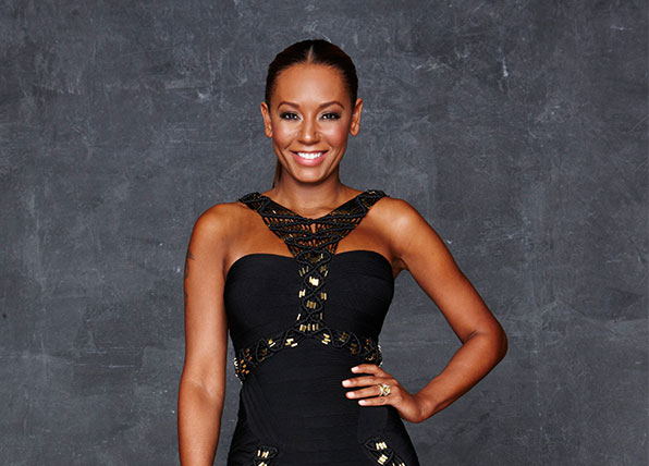 Mel B is glad to be back on The X factor