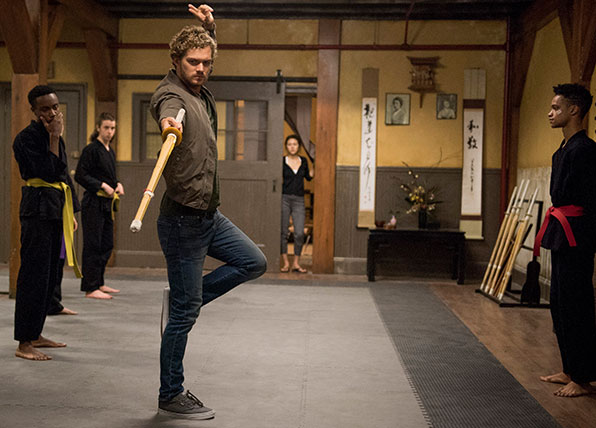 First Look at Marvel's Iron Fist