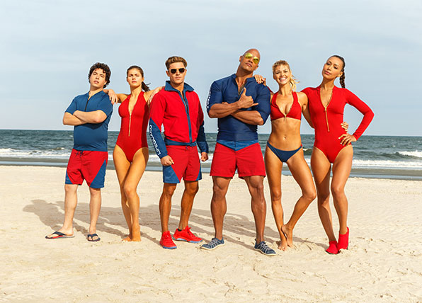 The Baywatch trailer is here!