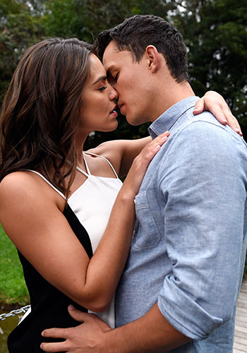 Paige's past loves on Neighbours