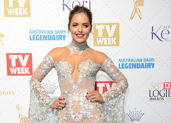 Olympia Valance opens up about body image