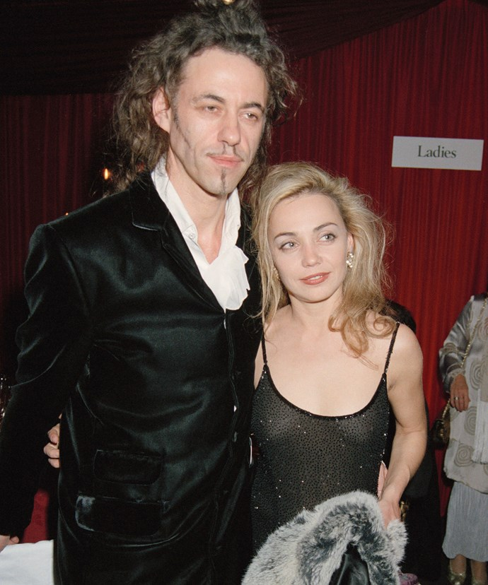 Bob and Jeanne pictured together back when they first met in 1996