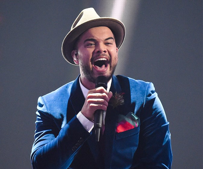 Angels brought him to Eurovision! Guy Sebastian takes to the stage to rehearse