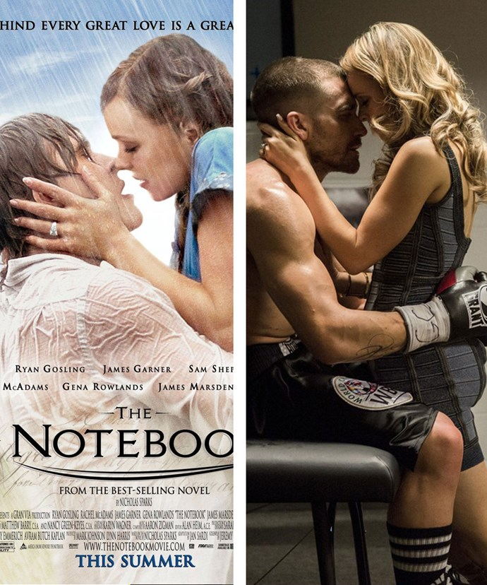 The notebook stars dating