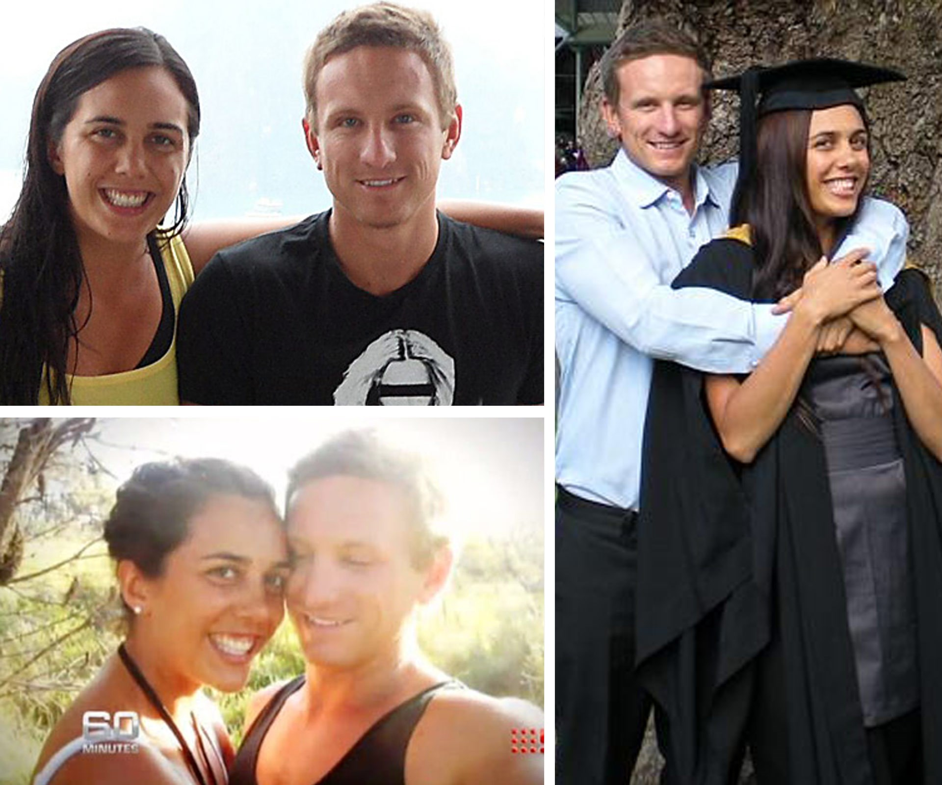 "In pictures: Turia Pitt and Michael Hoskin's love story:The love between these two is unbreakable. Turia often cites Michael's love as the key to her survival, admitting he makes her feel like ""the luckiest girl in the world."""