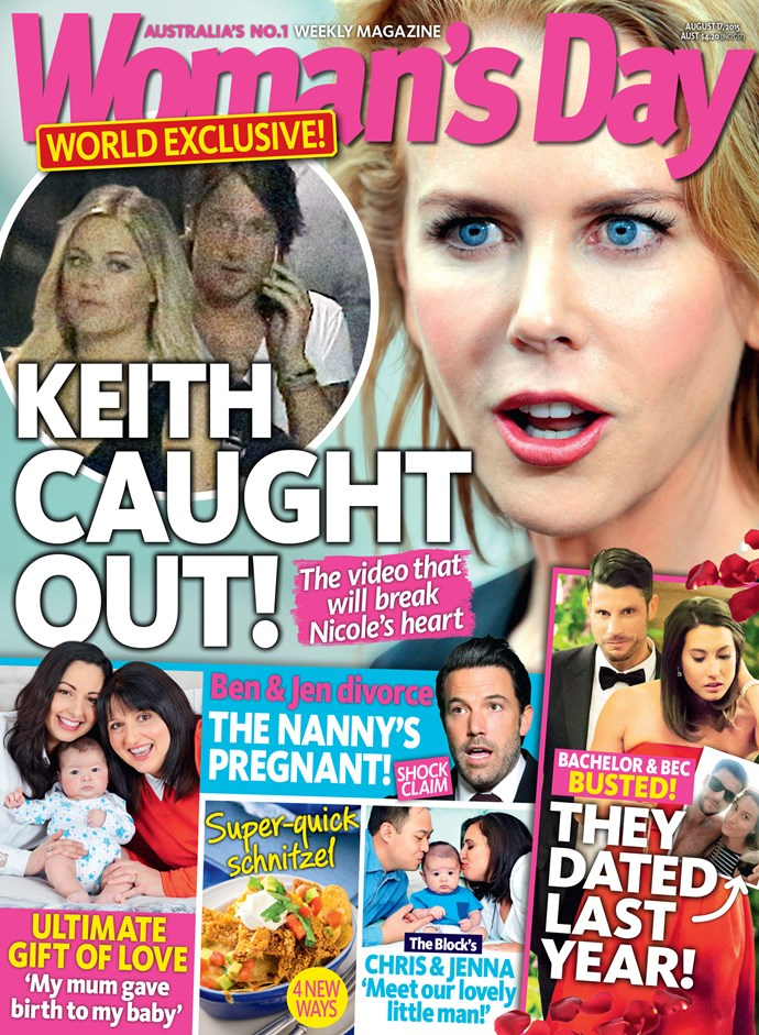 The Bachelor shock is only in this week's issue of *Woman's Day*, on stands now!