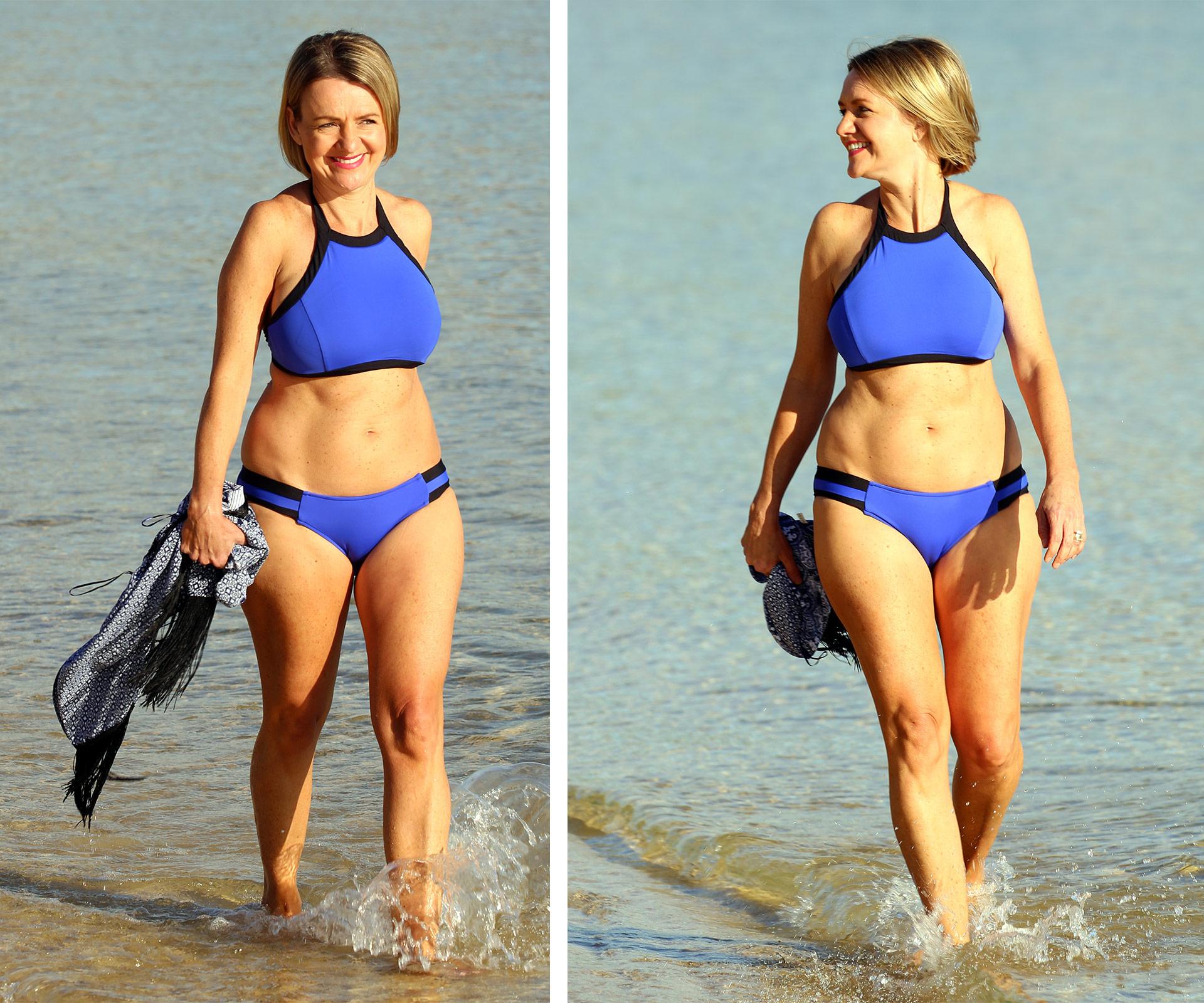 MKR's Jac and Shaz show off their bikini bodies | Woman's Day
