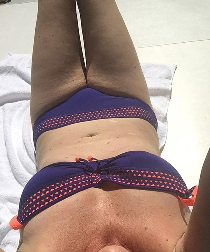 "The comedienne shared this phenomenal bikini shot that made us have one reaction: ""Phoarrr!"""