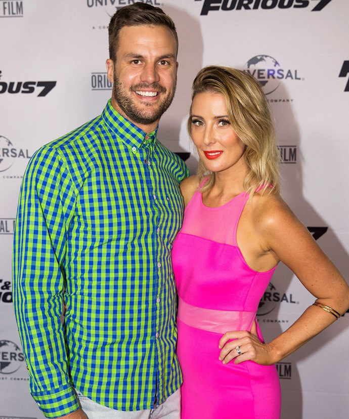 In hiding: As Beau and his wife of three years Kara (pictured at the *Fast And Furious 7* premiere in Sydney in March) work through his cheating bombshell, the couple have taken a break from the spotlight.