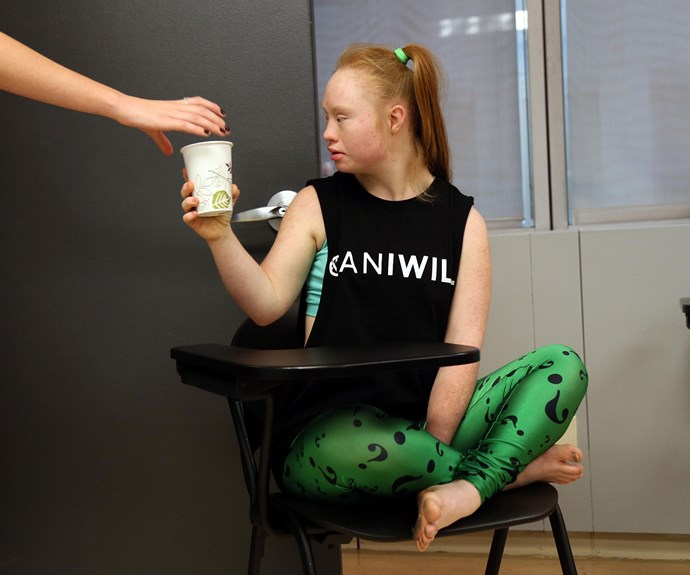 Madeline has been flat out in rehearsals for her catwalk debut at NYFW for American label *FTL Moda*.