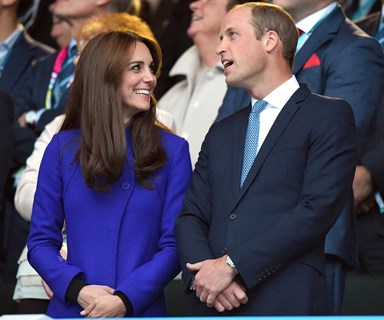Wills, Kate and Harry kick off the Rugby World Cup!