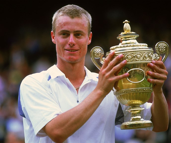 He's taken home plenty of Davis Cup Championships but he's also won a grand slam or two – pictured here in 2002 after winning Wimbledon men's singles.