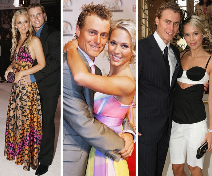 Off the court, Lleyton is a doting husband to former *Home and Away* actress Bec Hewitt.