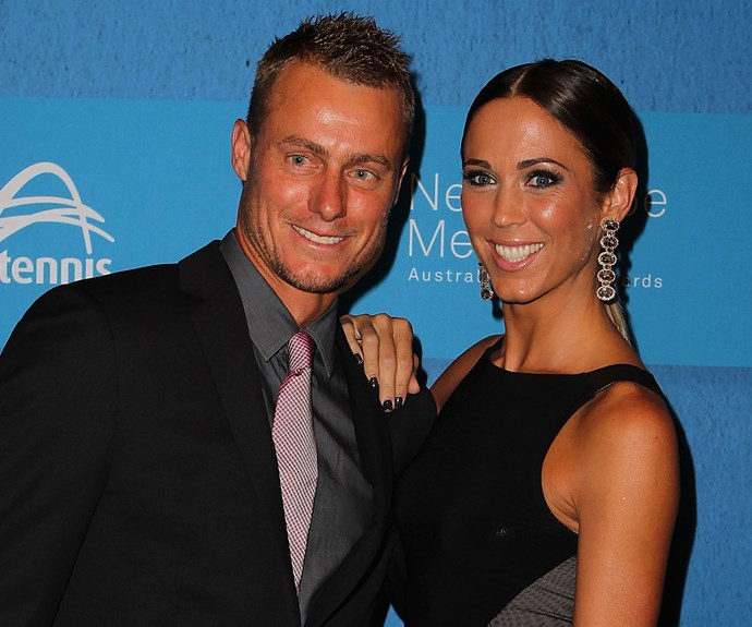 Lleyton proposed to Bec just six weeks into dating her, they married in 2005 and as they say, the rest is history.
