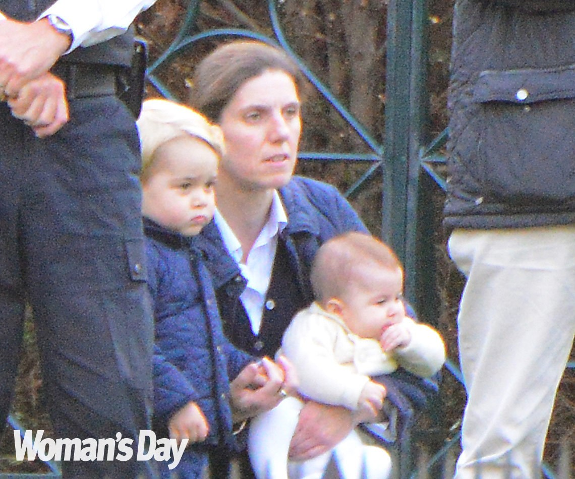 WORLD EXCLUSIVE PICTURES: Princess Charlotte's special day out with Prince George:After months behind closed doors, Princess Charlotte finally re-emerged with big brother, Prince George and their nanny, Maria Borrallo. Little Charlotte, you were worth the wait!