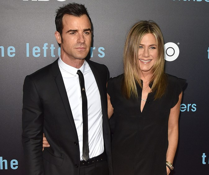 Jennifer Aniston and Justin Theroux's first red carpet since tying the knot!