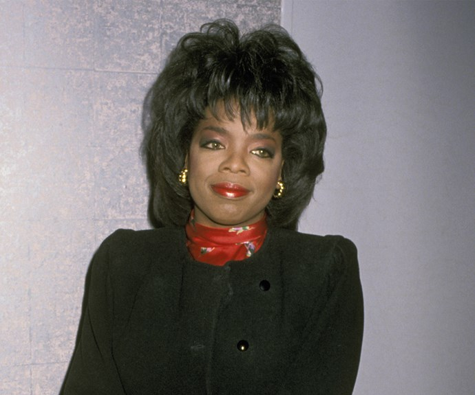 The higher the hair, the closer to God! Just ask Oprah circa 1989.