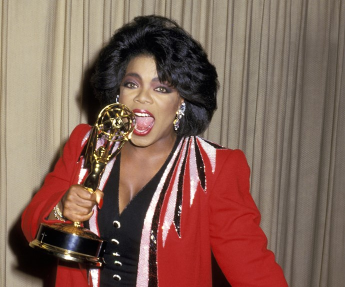 Farrah Fawcett who? Oprah tested out these flamboyant flicks in 1986, which Andre Walker named as her 'most hated haircut ever'. Yikes.